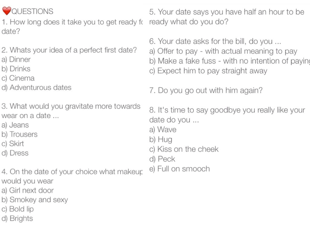 about First Date Questions on Pinterest | Date Questions, First Date ...